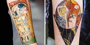 11 ярких эротичных татуировок в стиле Густава Климта