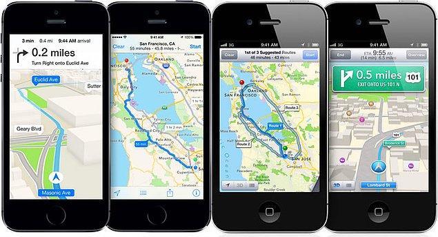 Apple, Apple Maps'i geliştirmek için kolları sıvadı.