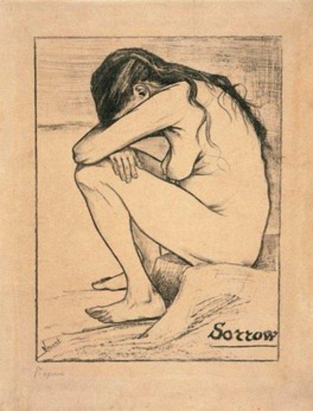 5. Bedeni tepeden tırnağa yaşanmışlıklarla dolu olan bu kadın, Vincent için bir esin perisiydi.