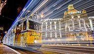 Рождественский Будапешт: сказочные огни трамваев и троллейбусов