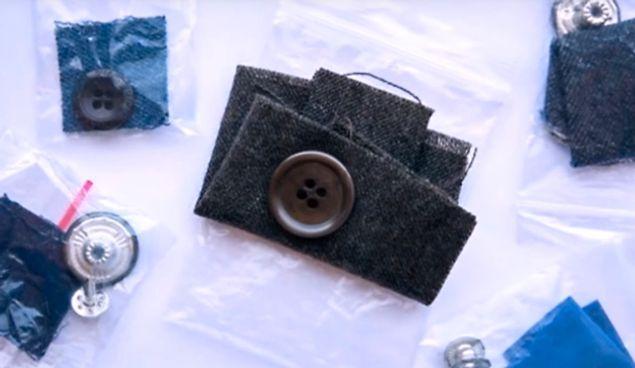 А для чего нужен дополнительный кусочек ткани, который прилагается к одежде?