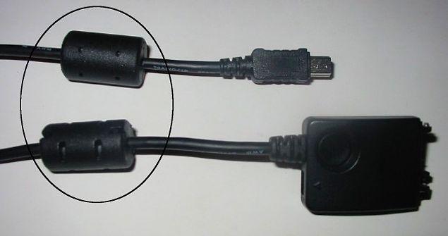 Для чего на кабеле есть утолщенный цилиндр?