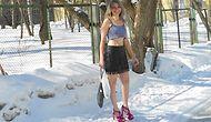 Снегурочка из Тольятти ходит в шортах и босоножках всю зиму