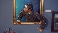 Когда картины в музее оживают...