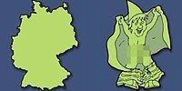 Тест: Отгадайте страну по очертаниям на карте