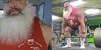 Этот Санта может поднять не только мешок с подарками
