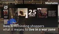 IKEA воссоздала дом сирийских беженцев прямо в своих магазинах