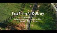 Amazon осуществил первую доставку с помощью дрона