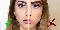 Ошибки в макияже/Как не стоит краситься