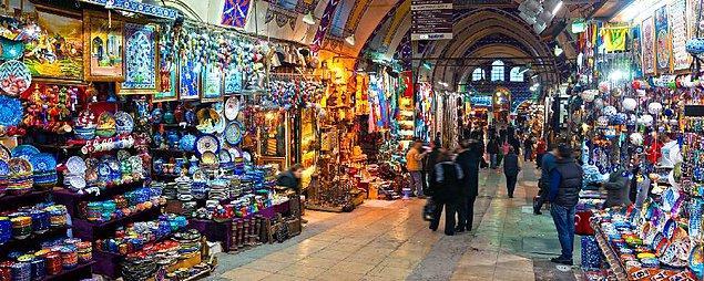 1. Bizim pazarımız gibi var mı? Kapalıçarşı, İstanbul