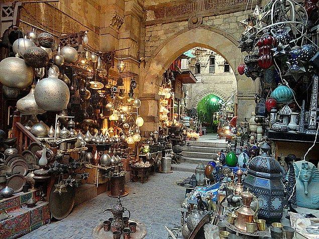 5. Altın düşkünlerine: Khan el-Khalili, Kahire