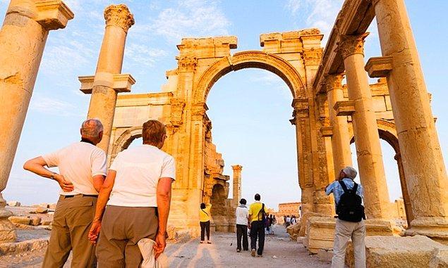 Palmira son zamanlara kadar turizmin yuvasıydı.
