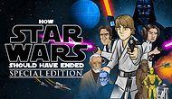 """Как должны были закончиться """"Звездные войны""""?"""