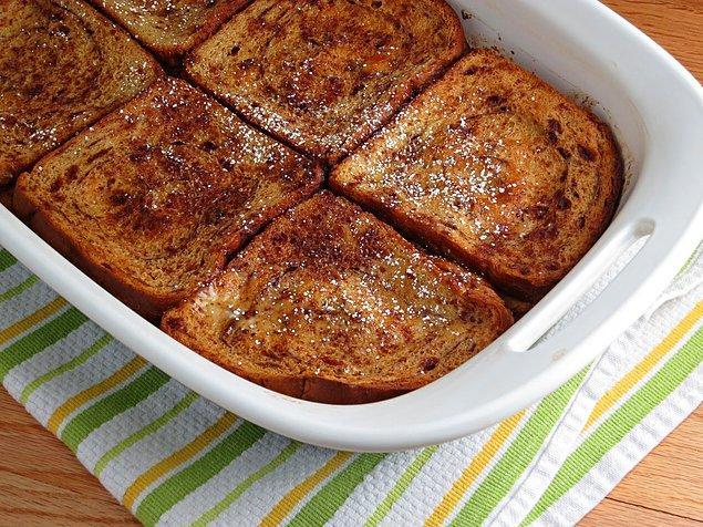 10. Fransız tost tariflerinin içerisinde en pratik olanı!
