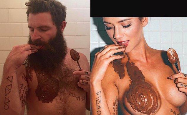 Bu arada Jarrod Allen geçenlerde Tinder'daki kadınları biraz olsun rahat bırakıp Instagram'a el attı.