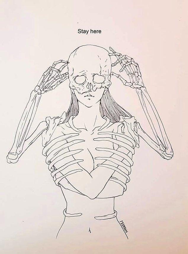 2. Ölümün ve depresyonun insanlık tarihinde taşıdığı mecazi anlamları ve mesajları düşünür.