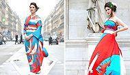 Японские невесты превращают традиционные кимоно в свадебные платья