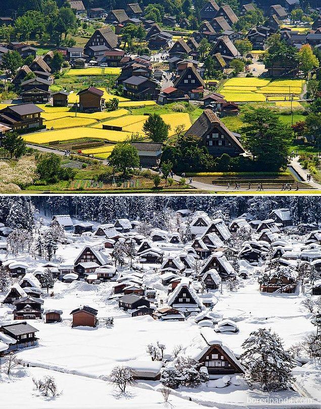 4. Tarihi Shirakawa-Gō Köyü, Japonya