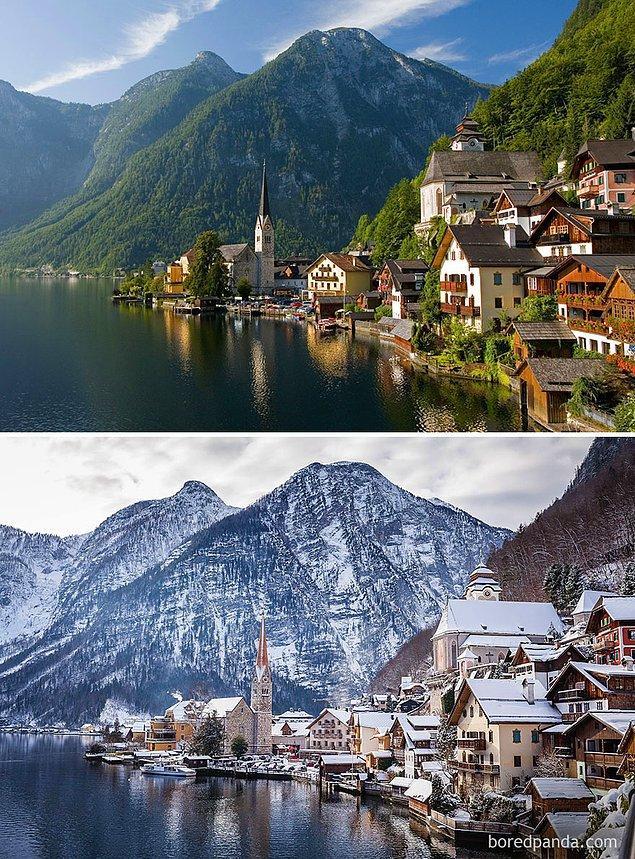 19. Hallstatt Köyü, Avusturya