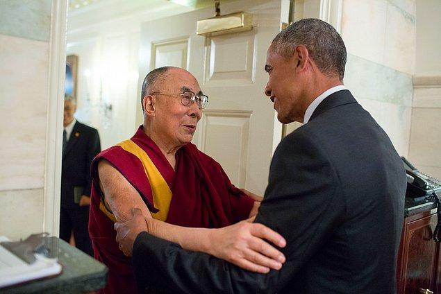 19. Dalai Lama'nın Beyaz Saray ziyareti