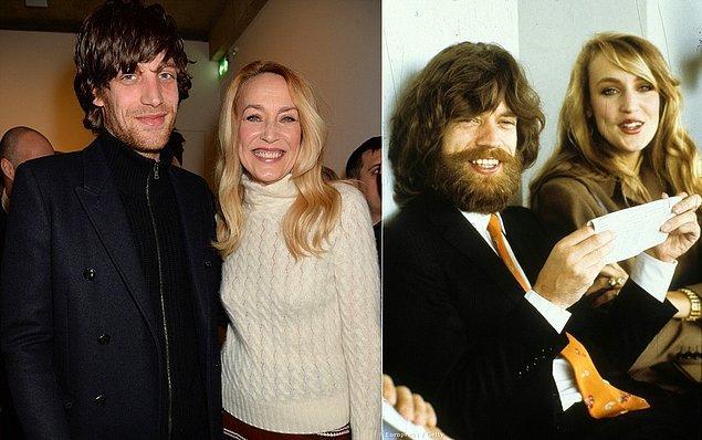 4. Mick Jagger ve Bianca Jagger'in oğlu James