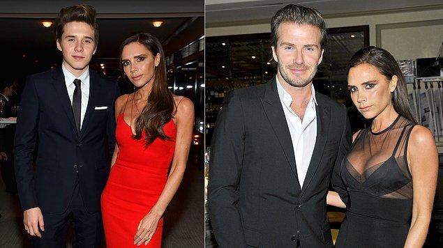 5. David Beckham ve Victoria Beckham'ın oğlu Brooklyn
