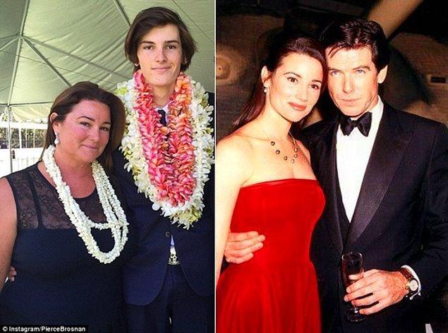 8. Pierce Brosnan ve Keely Shaye Smith'in oğlu Dylan