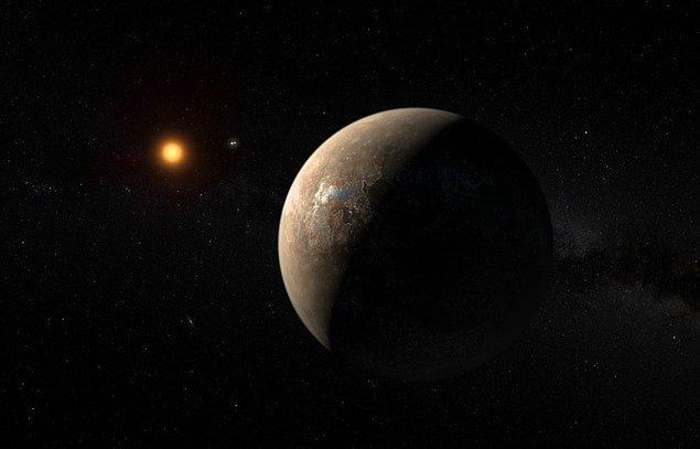 2. Dört ışık yılı uzağımızda, Dünya'ya benzer bir gezegen keşfedildi.