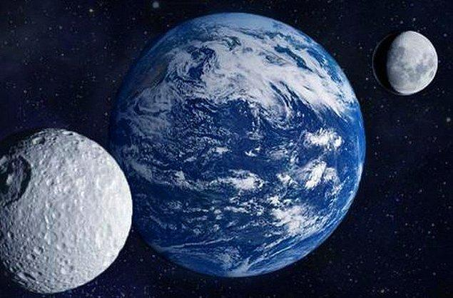 13. Dünya'nın 2016 HO3 adı verilen ikinci uydusu keşfedildi.