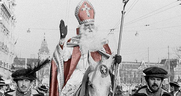 3. Bildiğimiz Noel Baba efsanesi Hollanda efsanesi Sinterklaas'a dayanıyor.