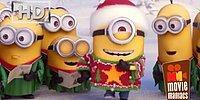 Новогоднее поздравление от миньонов