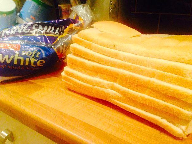 Какой извращенец резал этот хлеб?