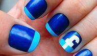 Новый тренд: ногти в стиле социальных сетей