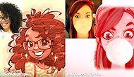 24 Amusing Pieces From The Illustrator Who Turns Random People Into Anime Characters