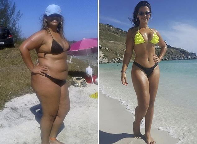 Доктор прочил еще большее ожирение, а она собралась с силами и сбросила 45 кг 💪
