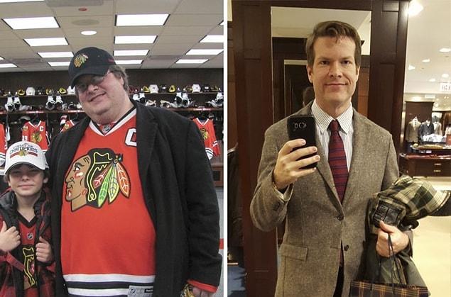 Сбросил 75 кг за 2 года.