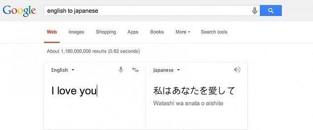 17. Tercüme özelliğini neredeyse bilmeyen yoktur ve Google'ın en fazla kullanılan özelliklerinden bir tanesidir.