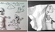 Иллюстратор использовал хитрые 3D трюки для оживления своих рисунков