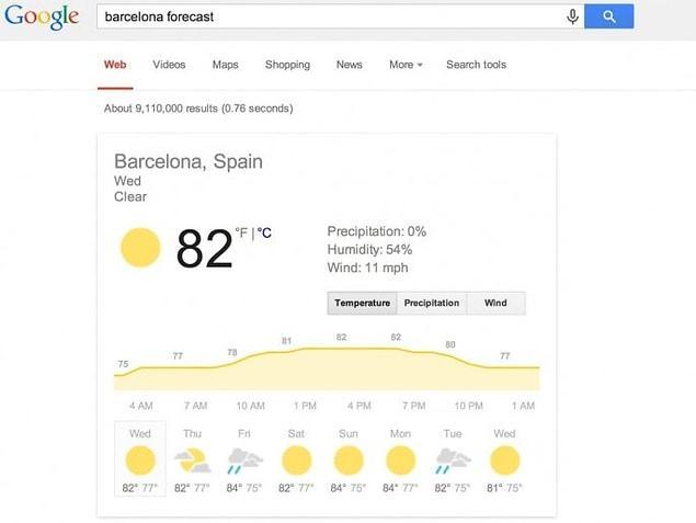В эти морозные зимние дни многих из нас интересует погода за окном. Google всегда готов вам её подсказать!