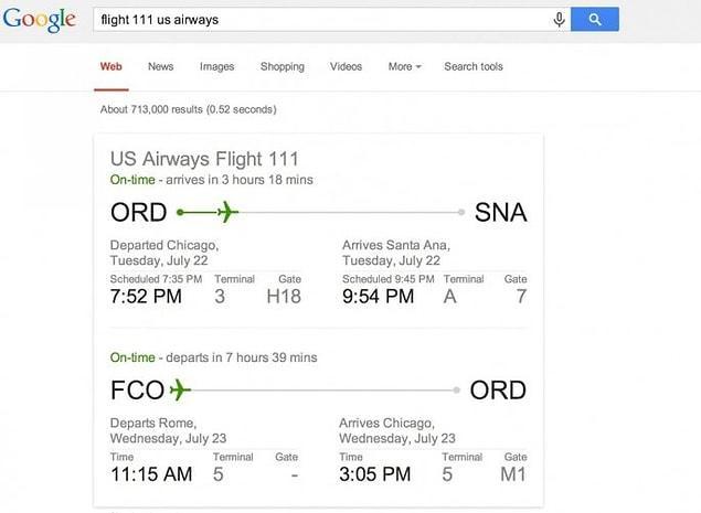 Если вы забыли время вылета, достаточно просто указать в поиске номер рейса и авиакомпанию, которой вы полетите.