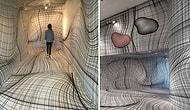 Austrian Artist Creates Optical Illusion Rooms That Will Make Your Head Spin!