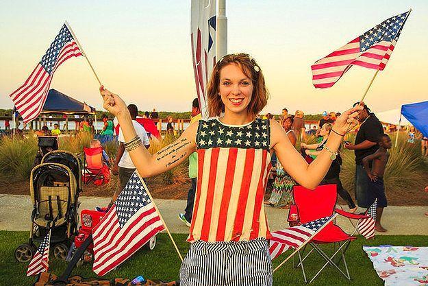 Флаги! Везде флаги!