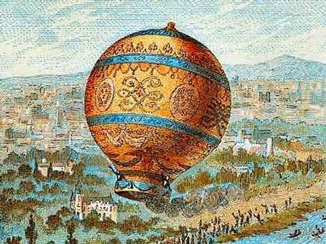 Первый испытатель воздушного шара разбился, перелетая через Ла Манш