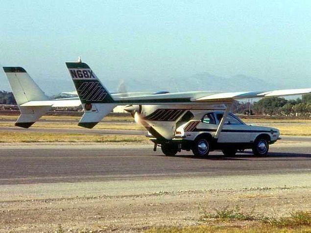 Создатели летающего Форда Пинто погибли во время полета, когда крылья отсоединились от машины