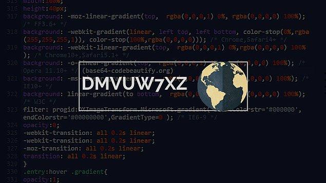 1. Bu kod bir gezegeni temsil ediyor, ancak nasıl bir şifrelemeyle oluşturulduğunu bulup çözmek sana kalmış!