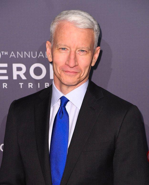 Известный телеведущий Андерсон Купер родился в июне 1967 года