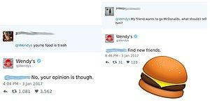 BURN: 24 Times Wendy's Is Hilariously Roasting Customers Over Twitter!