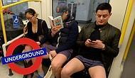 """""""В метро без штанов"""": как прошел ежегодный флешмоб в Лондоне"""