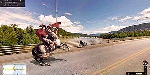 Персонажи классической живописи наводнили улицы Google Street View