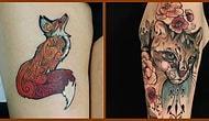 23 крутые татуировки для тех, кто обожает животных
